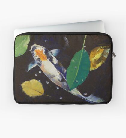 Kumonryu Koi Art Laptop Sleeve
