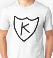Kurt Cobain - K tattoo, K records  Unisex T-Shirt