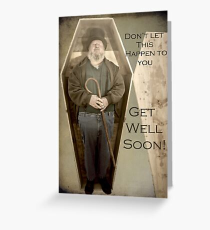 Get Well Soon Greeting Card Greeting Card