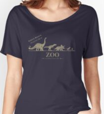 Jurassic Zoological Gardens  Women's Relaxed Fit T-Shirt