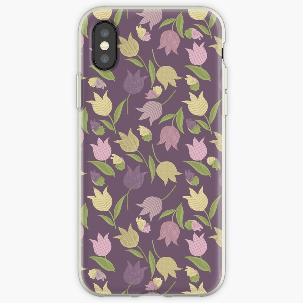 Tulips Pattern  iPhone Case & Cover