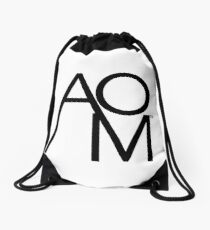 Andover One Media Logo - Multiple Product Styles Available  Drawstring Bag