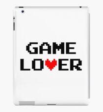 Game lover (black) iPad Case/Skin
