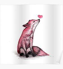 Fox Love Poster