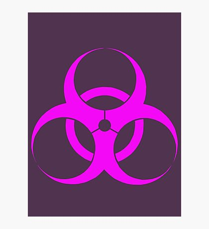 biohazard - organic, bio, hazardous, contaminated, environmentally Photographic Print
