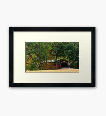 Wanich Covered Bridge_Columbia County Pennsylvania Framed Print