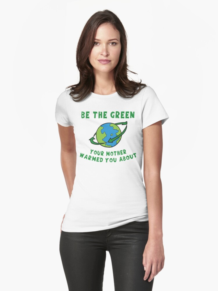 Earth Day Be Green by HolidayT-Shirts
