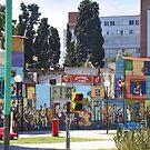 "Mural.   Barrio"" La Boca "".      Bnos Aires, Argentina by cieloverde"