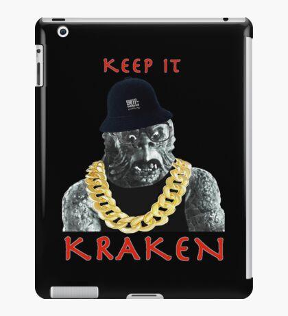 KEEP IT KRAKEN iPad Case/Skin