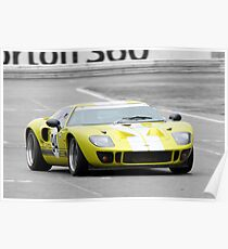 Roaring Forties Ford GT40 Replica Poster