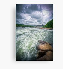 Raging James Canvas Print