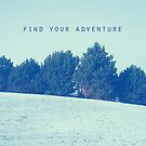 Find Your Adventure by sandra arduini