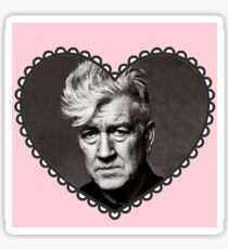 I Heart David Lynch Sticker