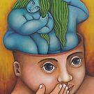 BLUE BATHERS by palma tayona