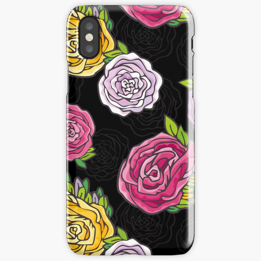 Vintage Roses iPhone Case & Cover