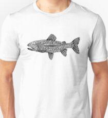 Doodle of Trout Unisex T-Shirt
