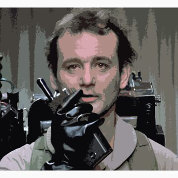 Bill Murray Ghost Busters by jonfrobinson