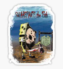 Squarepants the 13th Sticker