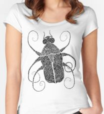 Doodle Bug 2 Women's Fitted Scoop T-Shirt