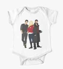 Neal, Emma, and Hook One Piece - Short Sleeve