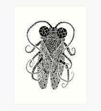 Doodle Bug 3 Art Print