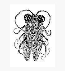 Doodle Bug 3 Photographic Print