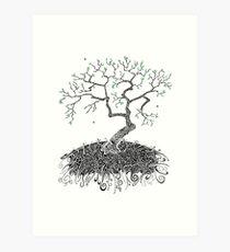 A Doodle Planted Art Print