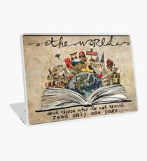 The World Is A Book Laptop Skin