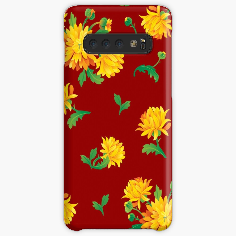 Autumn Chrysanthemums Case & Skin for Samsung Galaxy