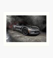 2015 Chevrolet Corvette Z06 Art Print