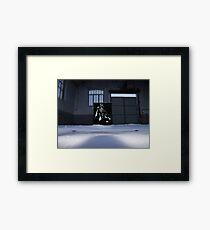 Vader spraypainting Framed Print