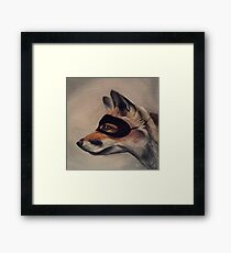 the Sly Fox Framed Print