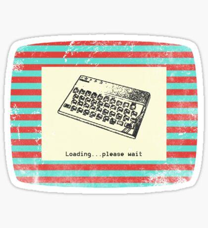 ZX Spectrum Loading Screen Sticker