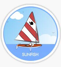 Sunfish Sailboat Sticker