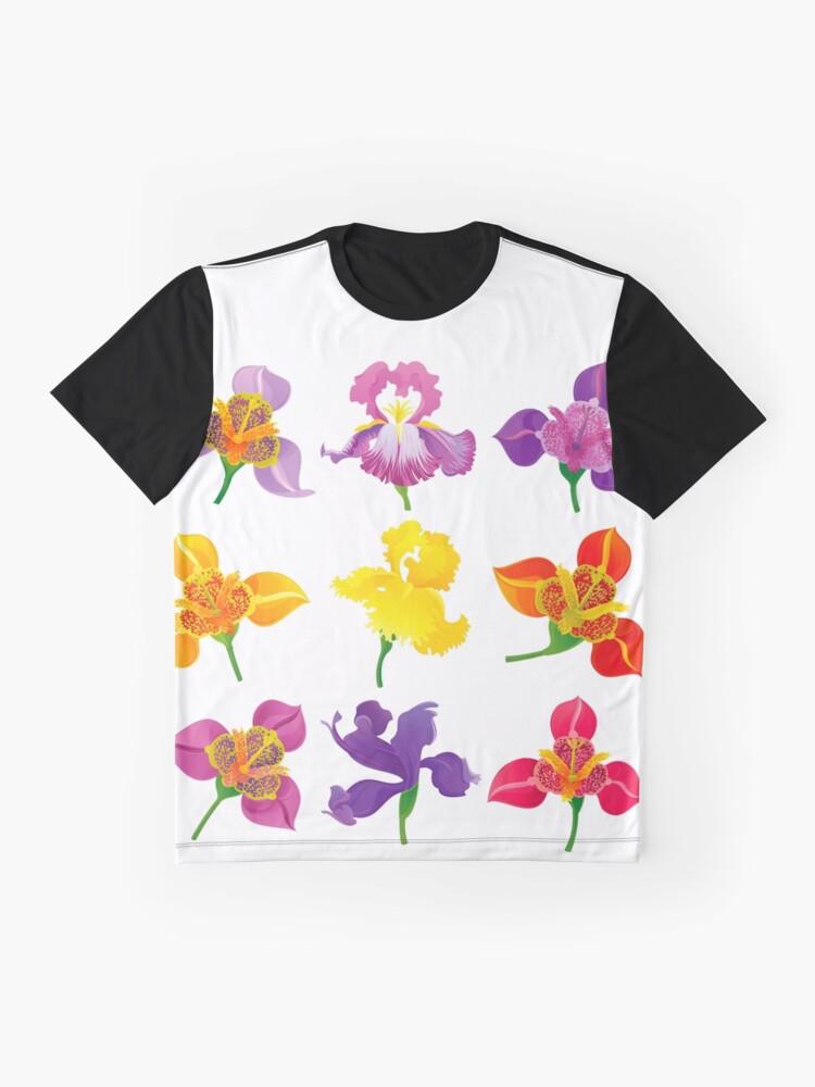 Alternate view of Tigridia & Iris Graphic T-Shirt