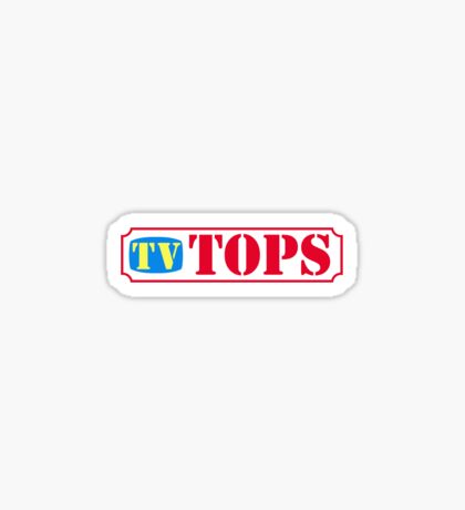 TV Tops Sticker