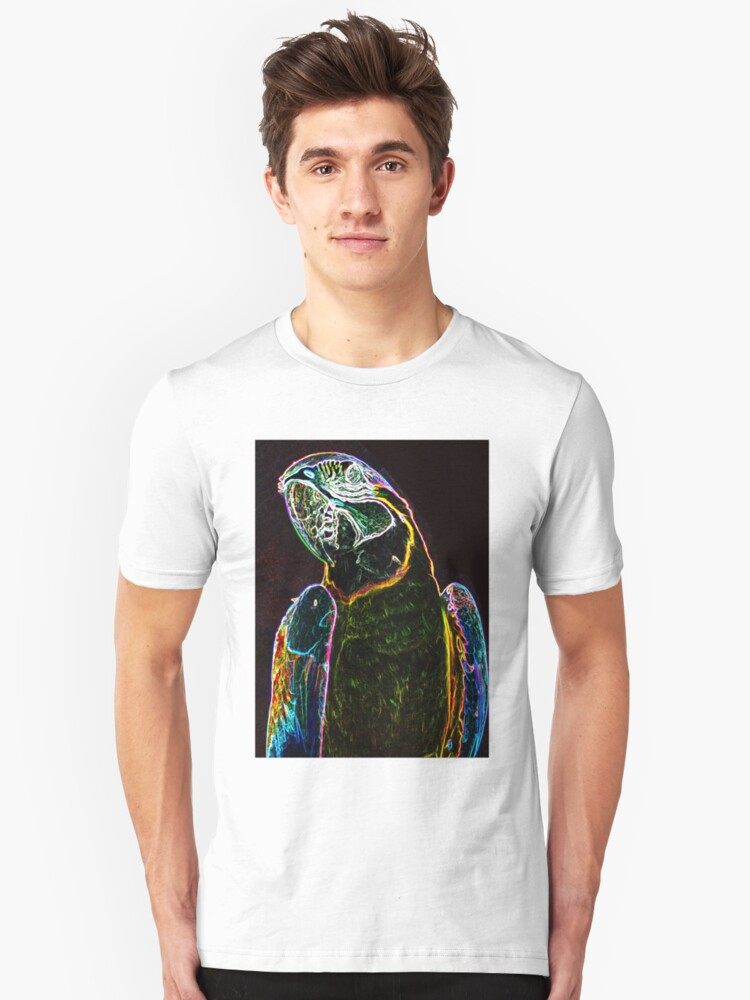 macaw T by Wieslaw Jan Syposz
