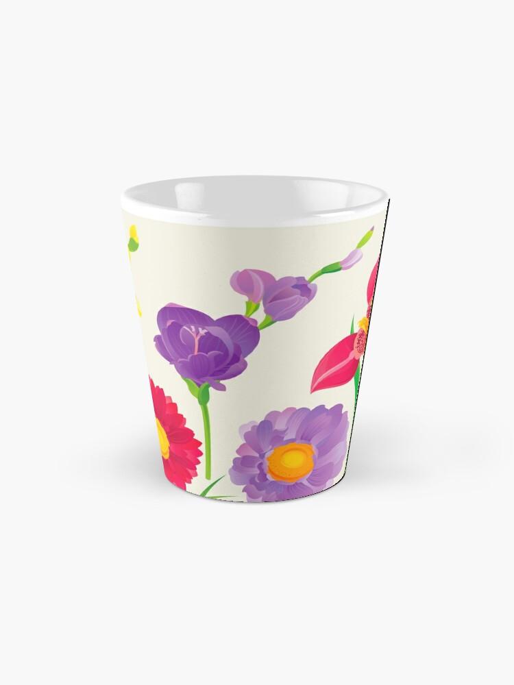 Alternate view of Spring Flowers Mug