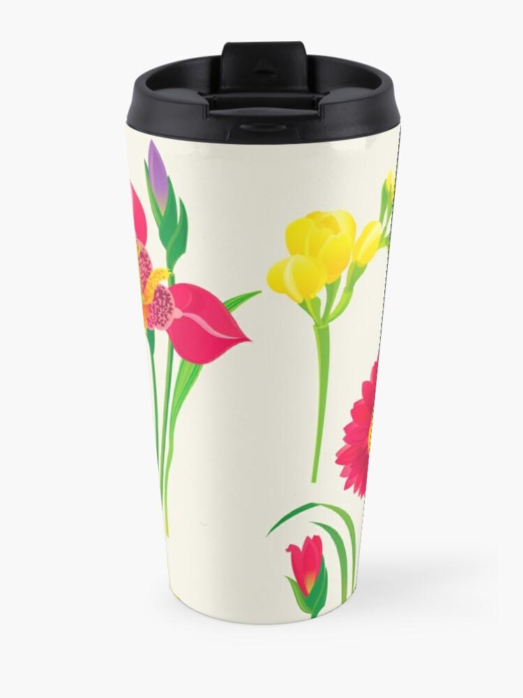 Alternate view of Spring Flowers Travel Mug