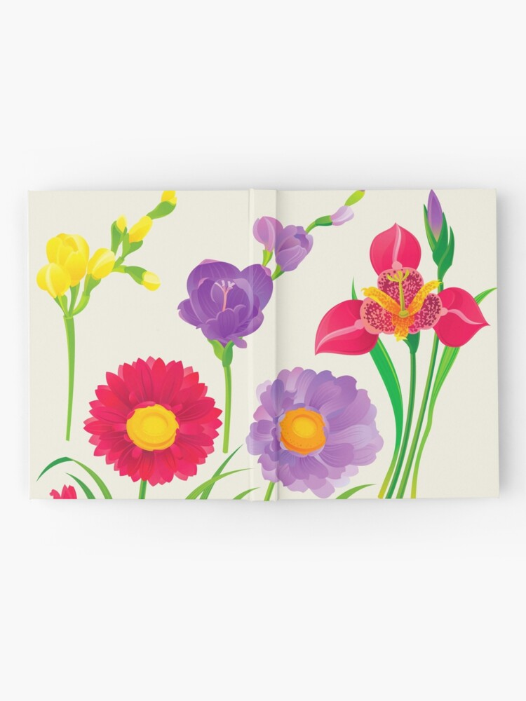 Alternate view of Spring Flowers Hardcover Journal