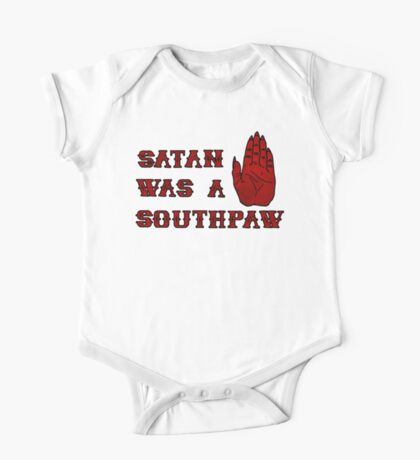 Satan Was A Southpaw Kids Clothes