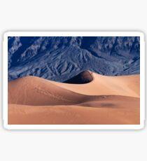 Sunrise over Mesquite Flat Sand Dunes Sticker