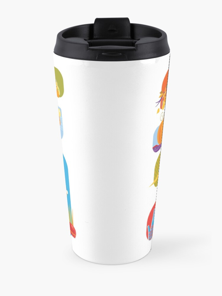 Alternate view of Autumn Farm  Travel Mug
