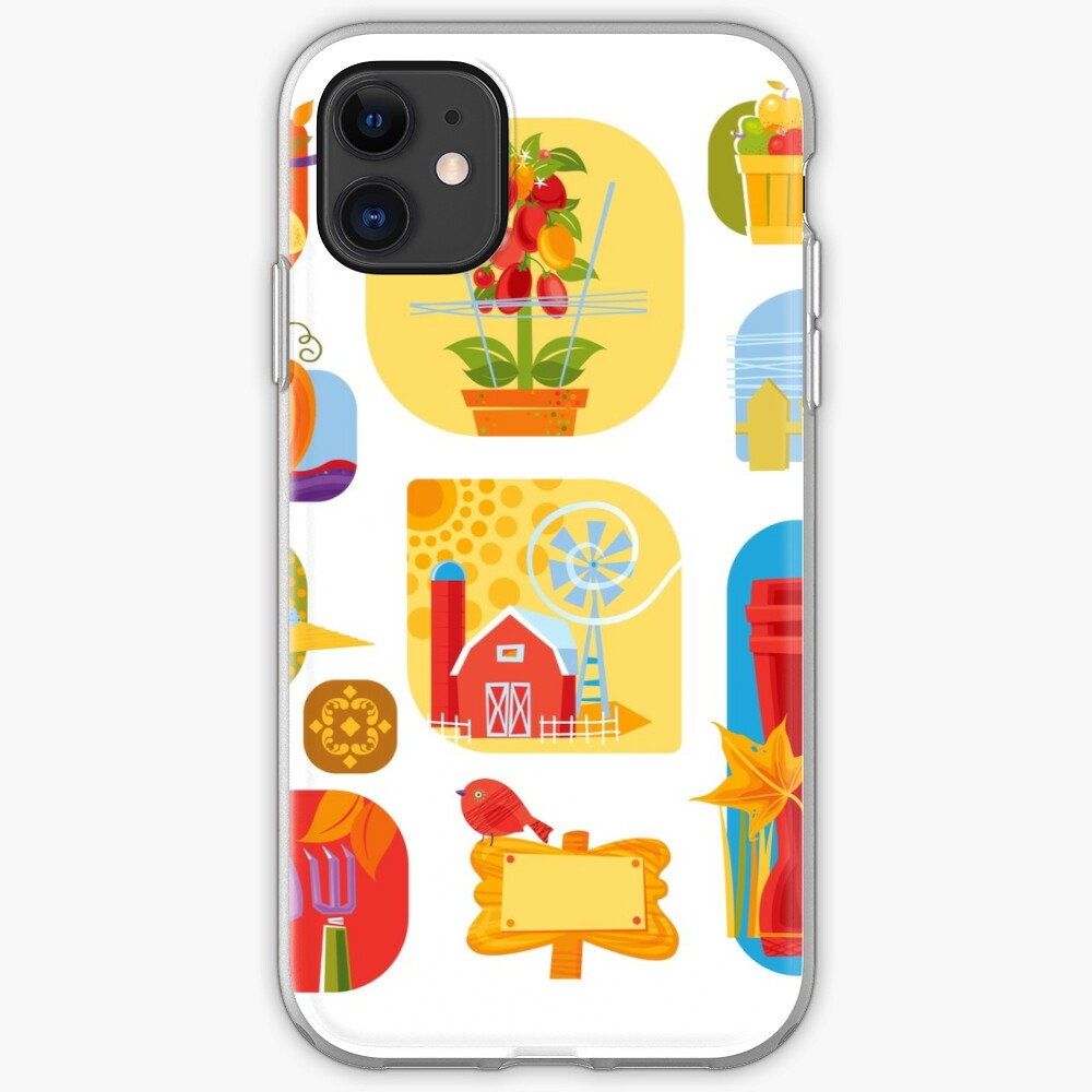 Autumn Farm  iPhone Case & Cover