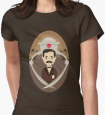 HG Wells T-shirt col V femme