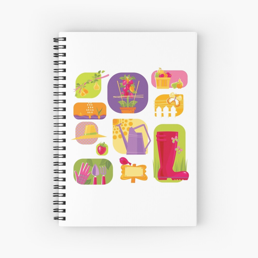 Summer Farm Spiral Notebook