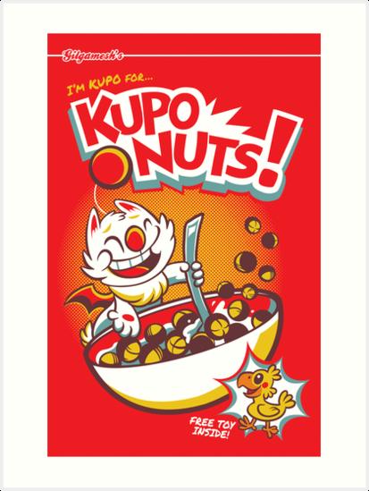 Kupo Nuts by Kari Fry