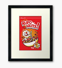 Kupo Nuts Framed Print