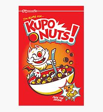 Kupo Nuts Photographic Print