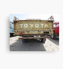 Toyota FJ Canvas Print